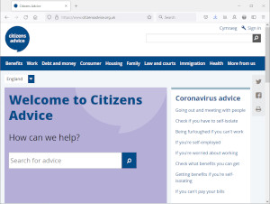 Citizen Advice website